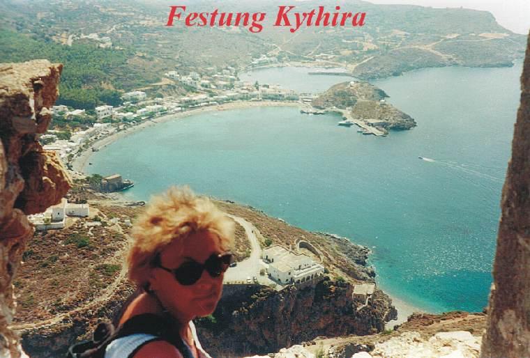 auf halben Wege nach Kreta